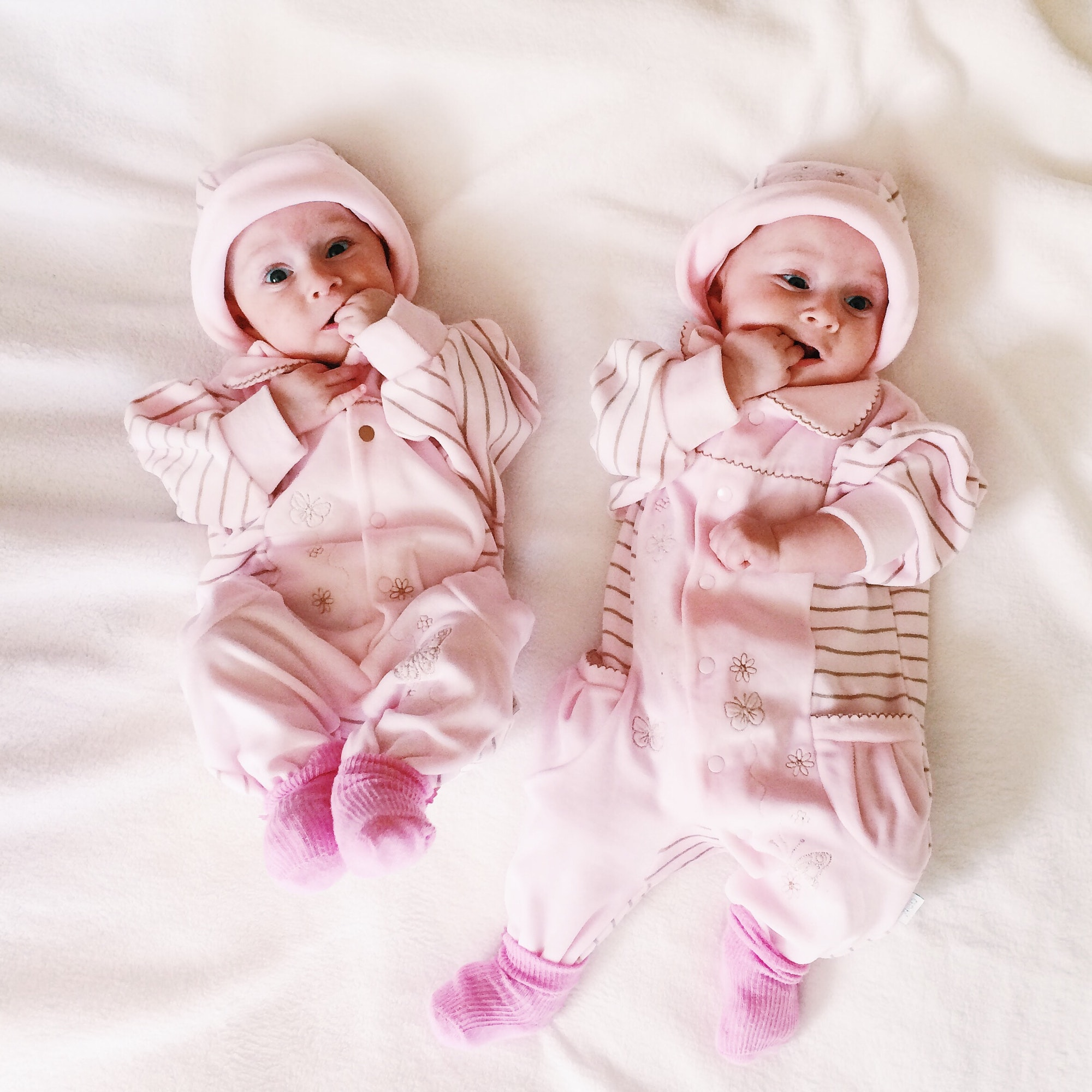Jumelles bébé